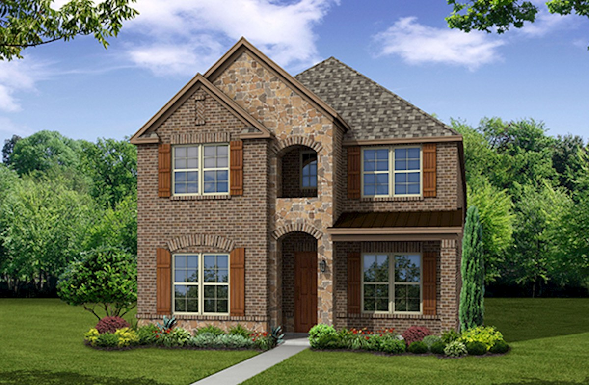 Hamilton Elevation French Country L