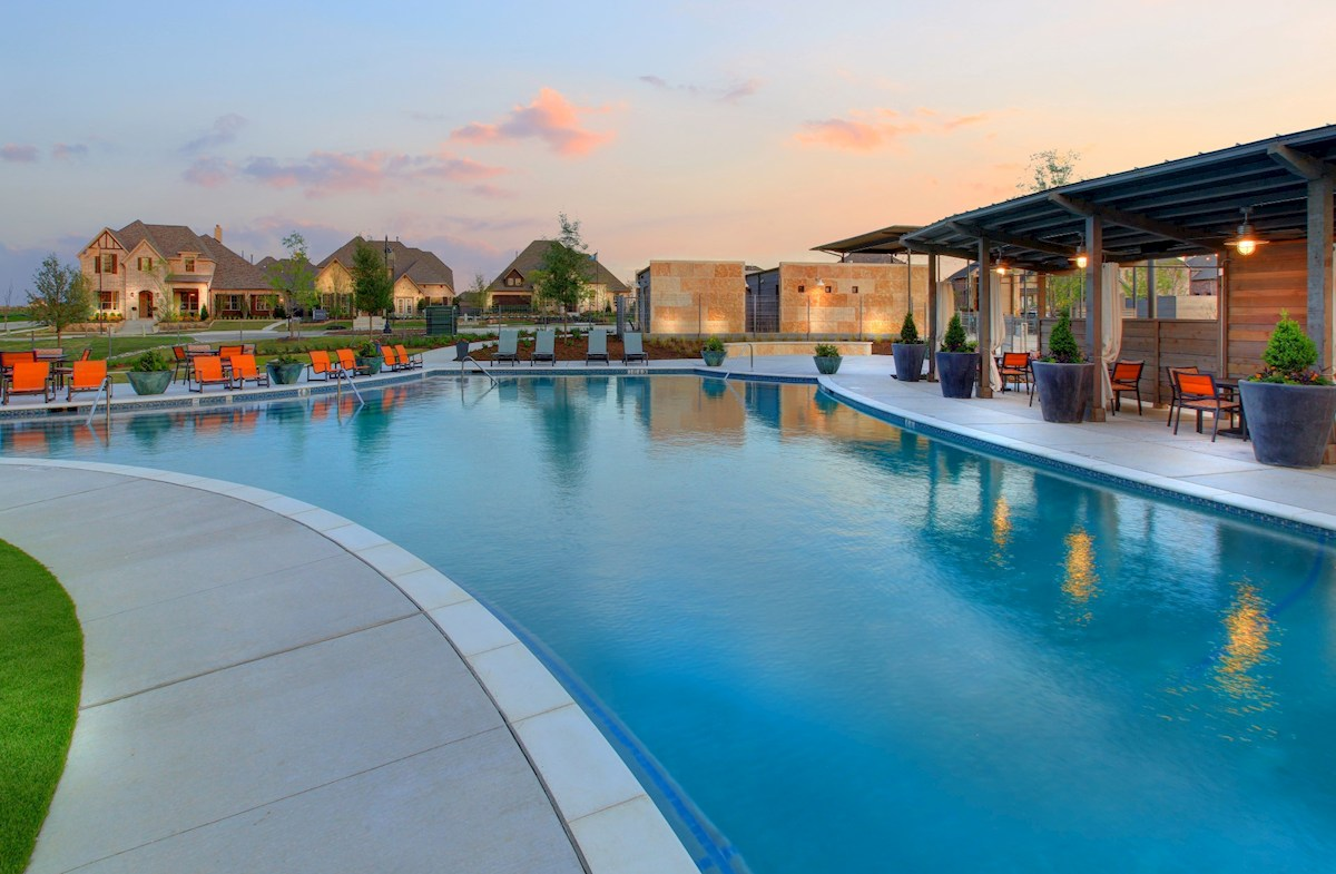 Union Park Community Pool and Cabanas