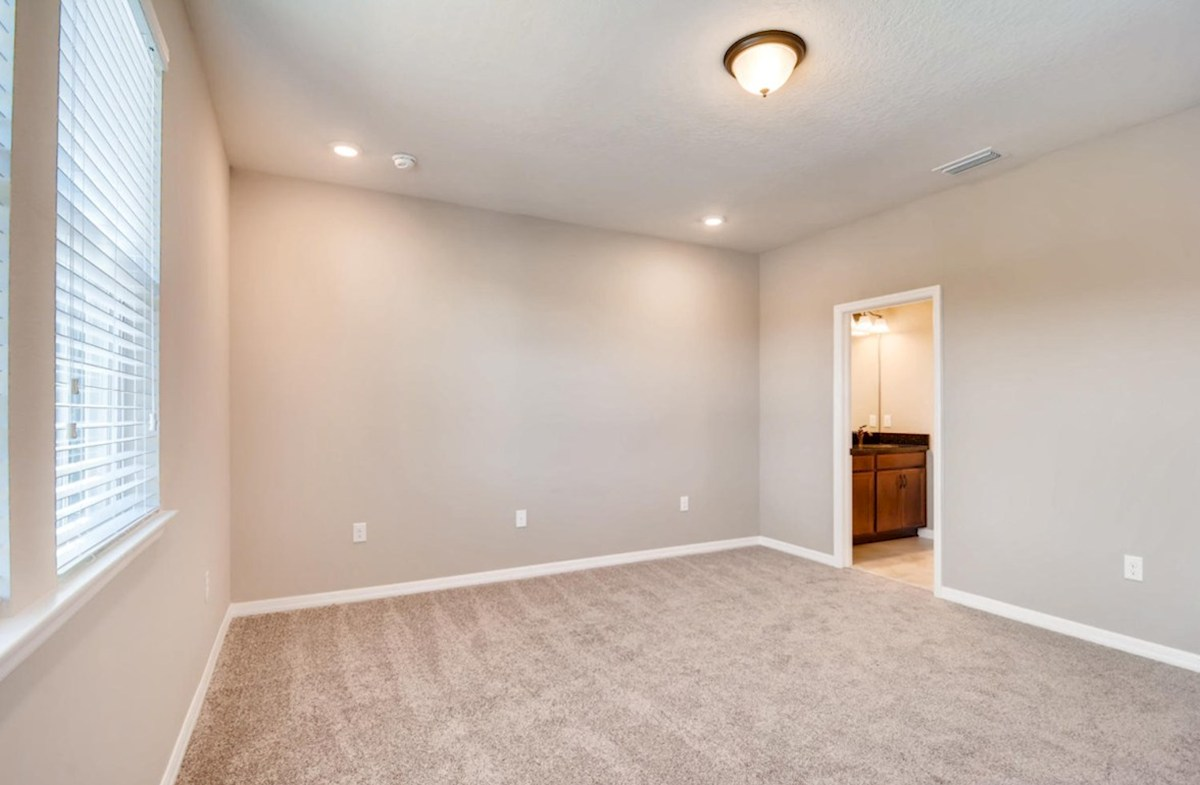 Siesta Key quick move-in Spacious master bedroom with windows for natural light
