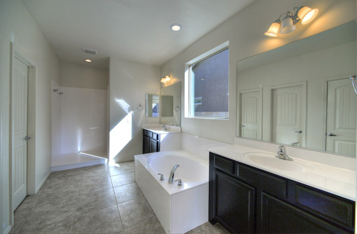 Copley quick move-in spa-inspired tub