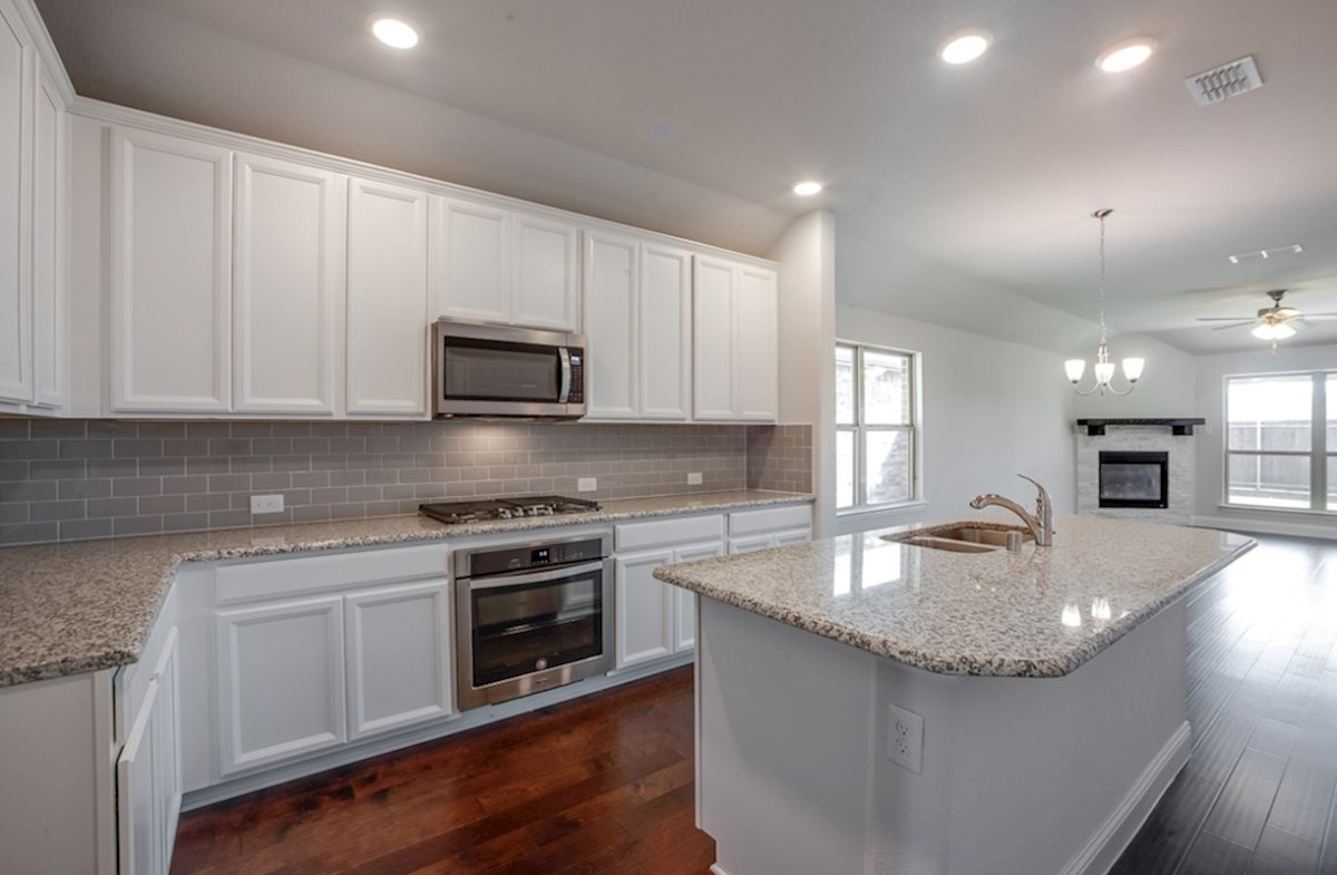Millbrook quick move-in Millbrook Kitchen with granite countertops