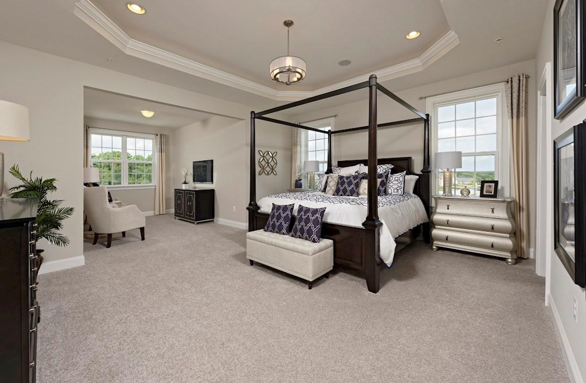 Brookview master bedroom