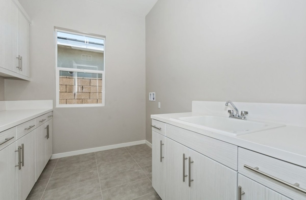 Residence 3 quick move-in Abundant storage in the convenient upstairs laundry room