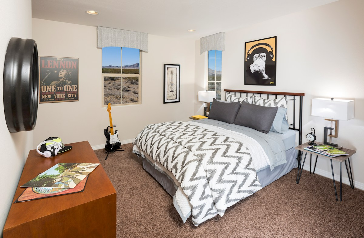 Reliance Collection at Inspirada Bayview spacious Bedroom 2