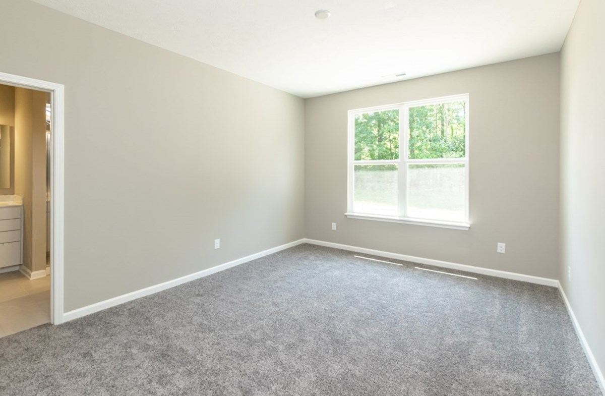 Hamilton quick move-in first floor master bedroom