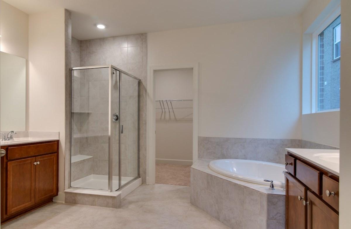 McKinley quick move-in spa-inspired master bath