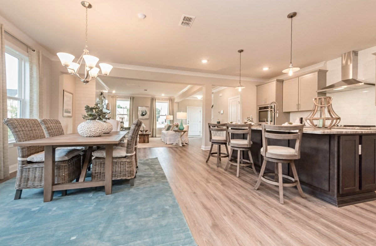 The Marshes at Cooper River Palmetto open-concept first floor