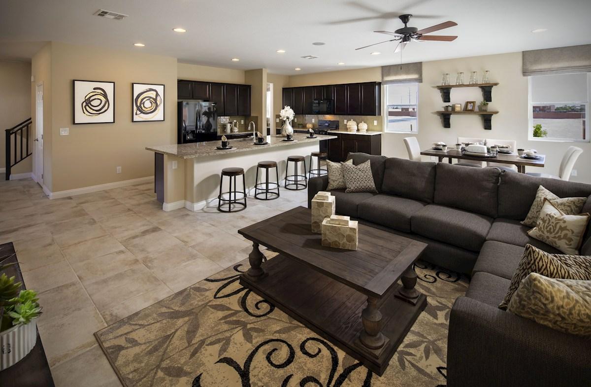Dorrell Estates Sienna capacious great room