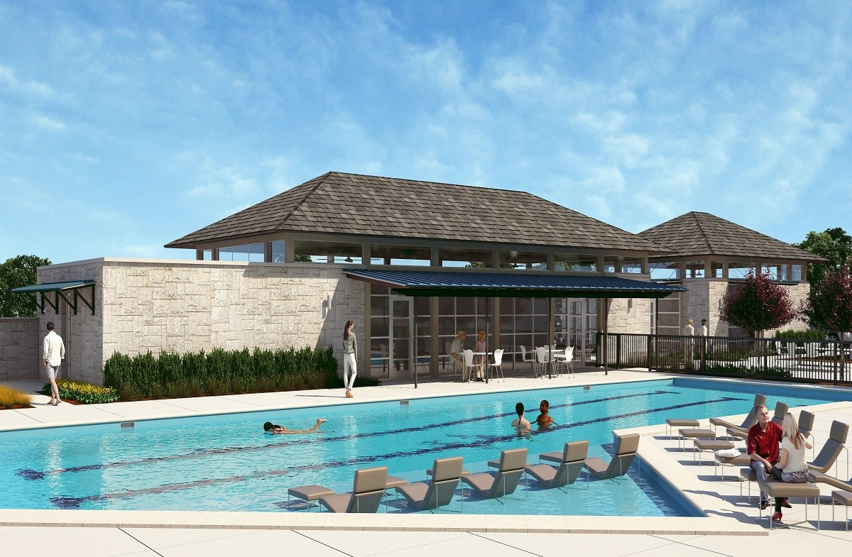 Future Lap Pool and Clubhouse