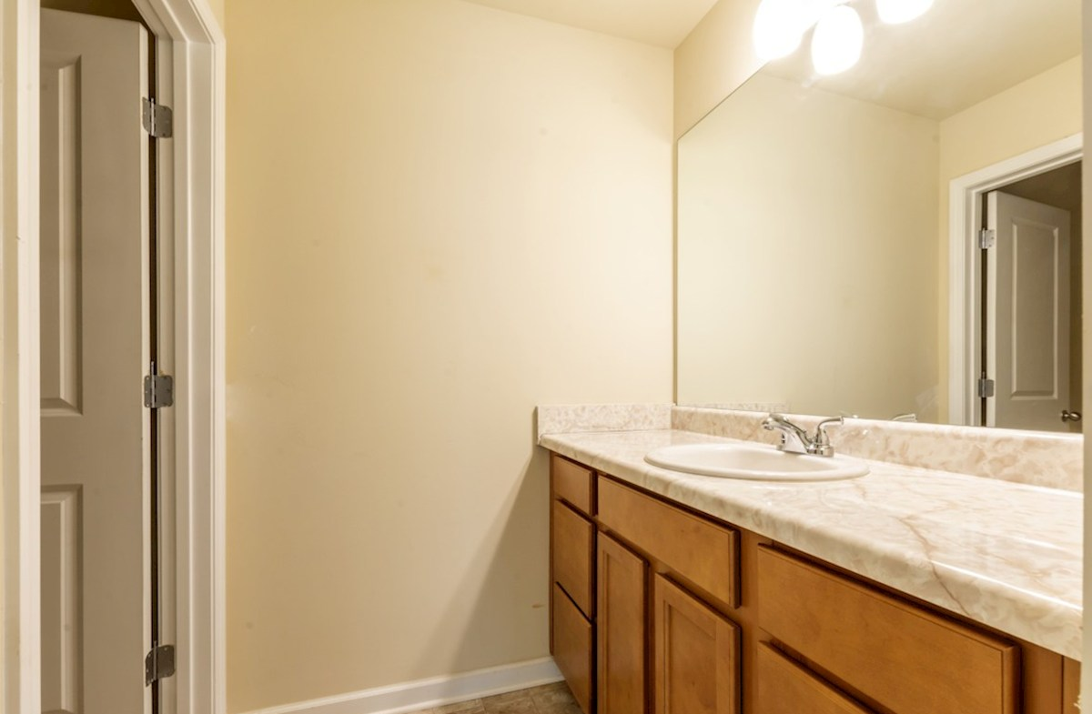 Centennial Walk Hartwell Secondary Bathroom with extra counter space