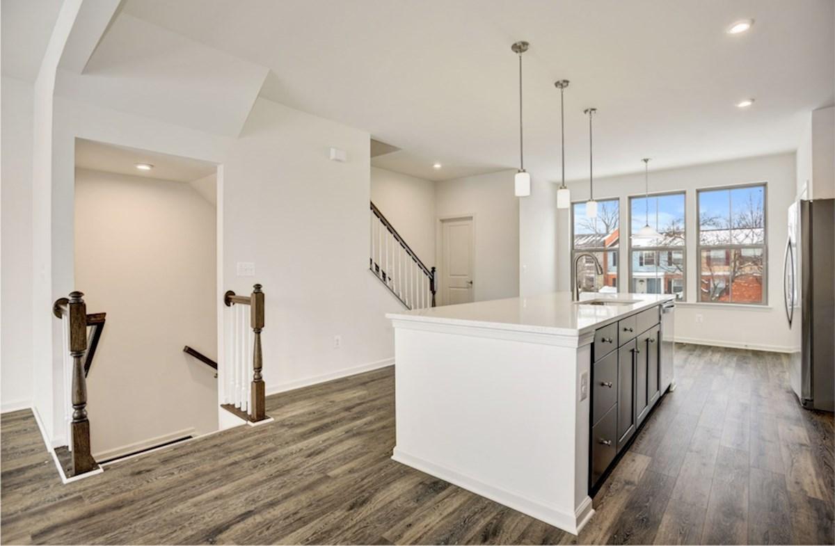 Kennedy quick move-in open floorplan