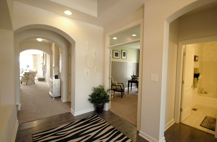 Heritage at Vermillion Greenwich Arched doorways provide an ornamental flair.