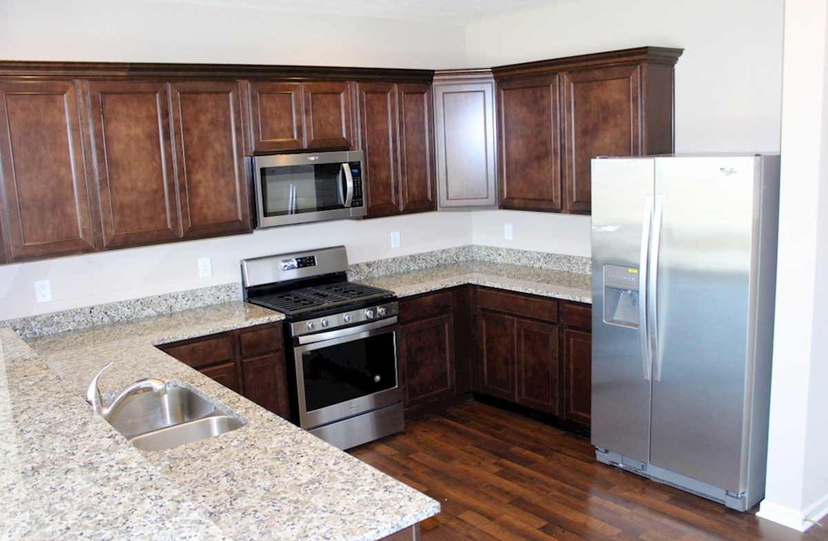 Hartford quick move-in Open kitchen with granite counter tops