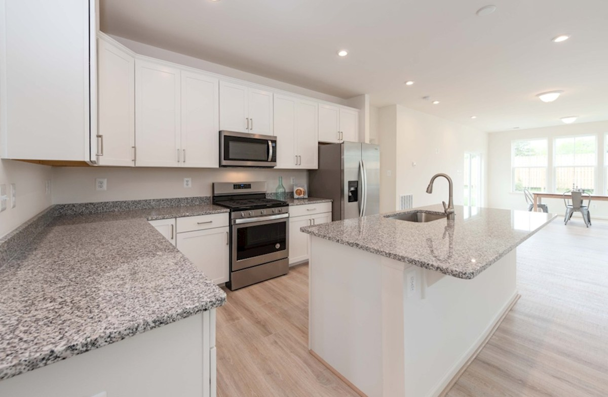 Dover quick move-in Dover kitchen featuring stainless steel appliances