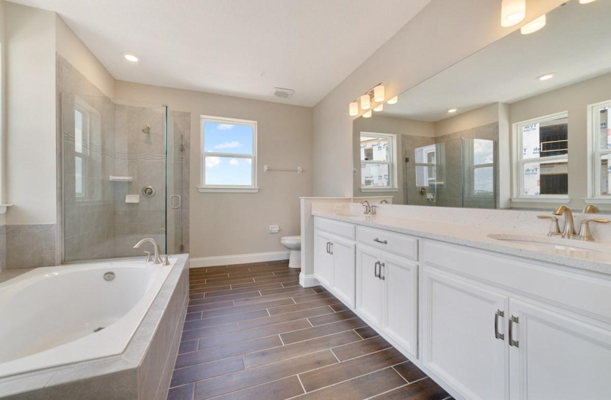 Dogwood quick move-in spa-inspired master bath