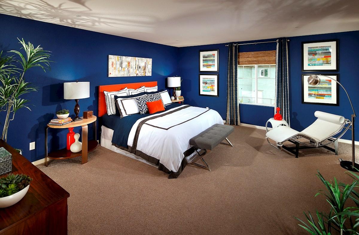Capital Village Residence 1 master bedroom