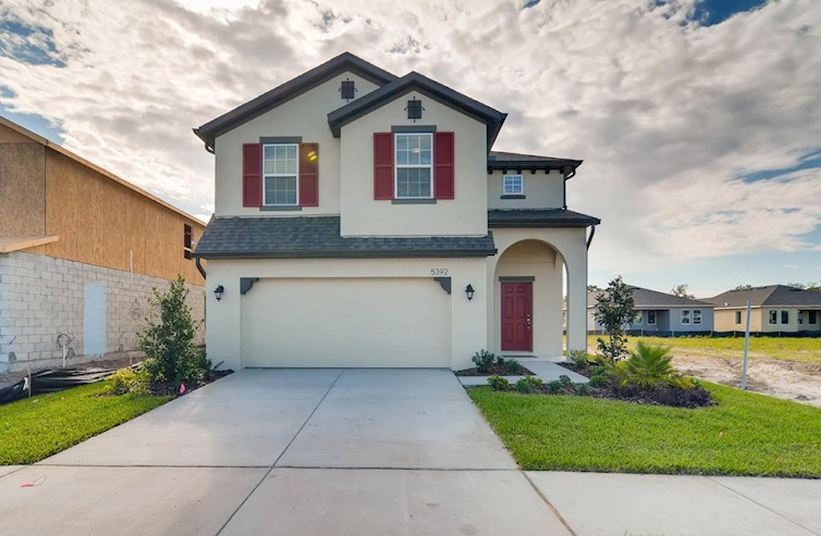 Cypress Pointe Elevation Spanish Colonial L quick move-in