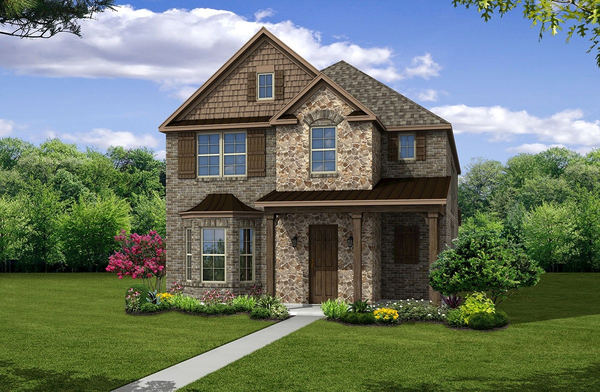 Fairfield Elevation French Country N