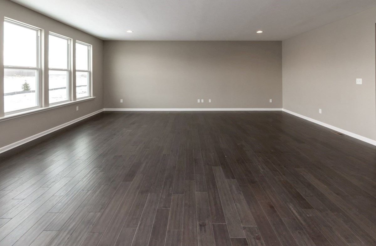 Shelby quick move-in spacious great room with hardwood floors