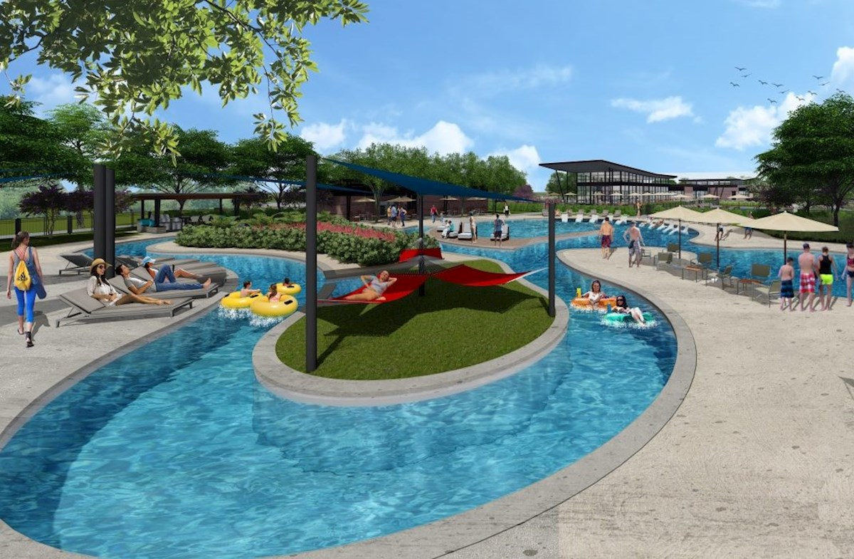 Relax in the sun at the upcoming lazy river