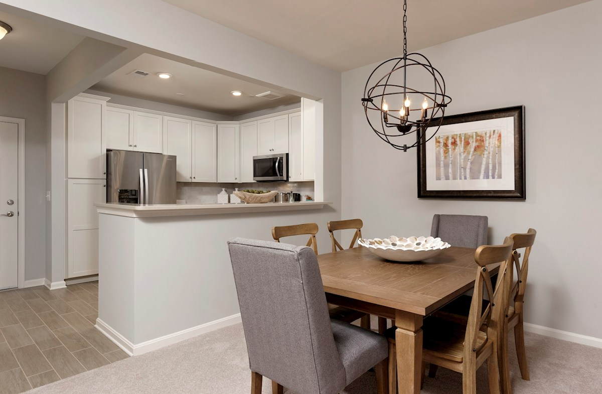 Gatherings® at Quarry Place Aspen with Study Dining area
