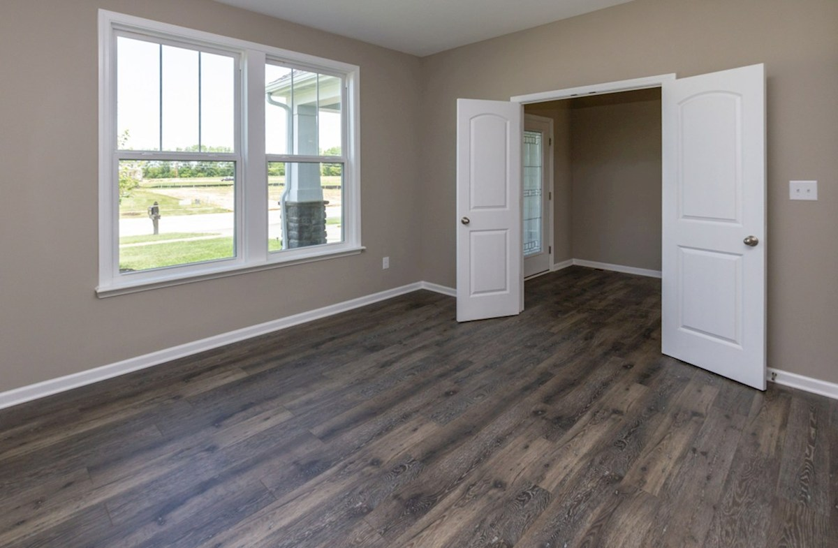 Porter quick move-in Study with hardwood floors