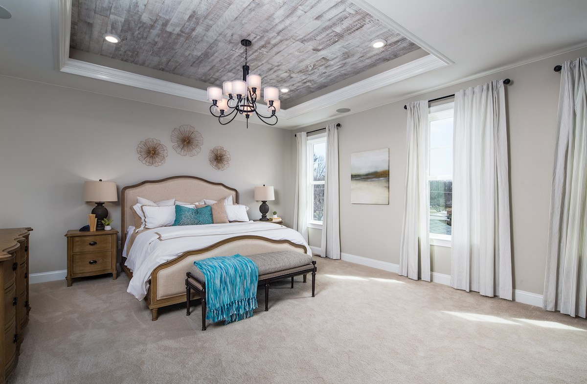 Pembrooke Master Suite with a box ceiling