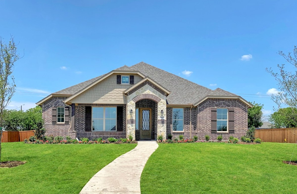 Blakely Elevation French Country M quick move-in