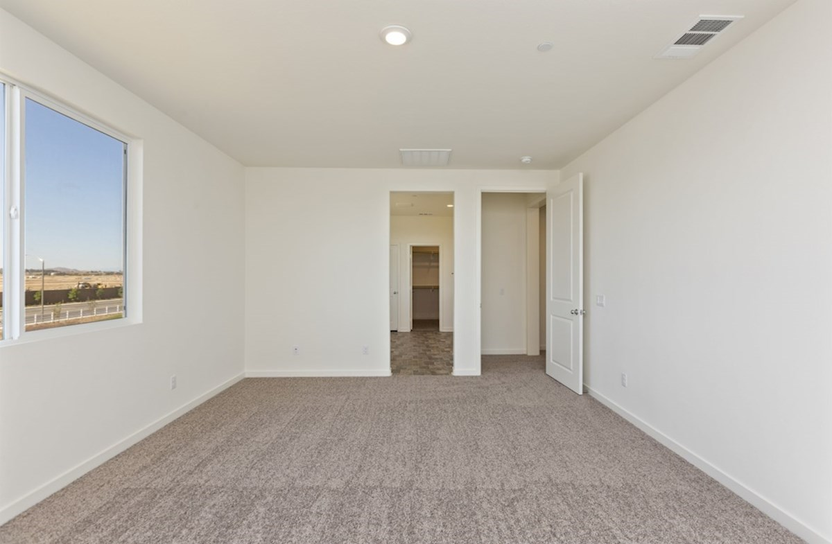 Reserve quick move-in Secondary bedrooms all boast large closets