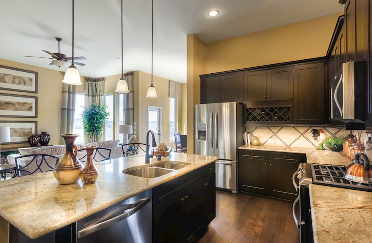 Bluewater Lakes  Galveston kitchen with granite island