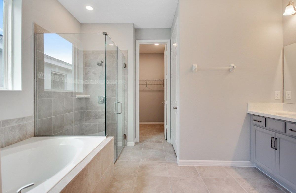 Thornbury quick move-in spa-inspired master bath