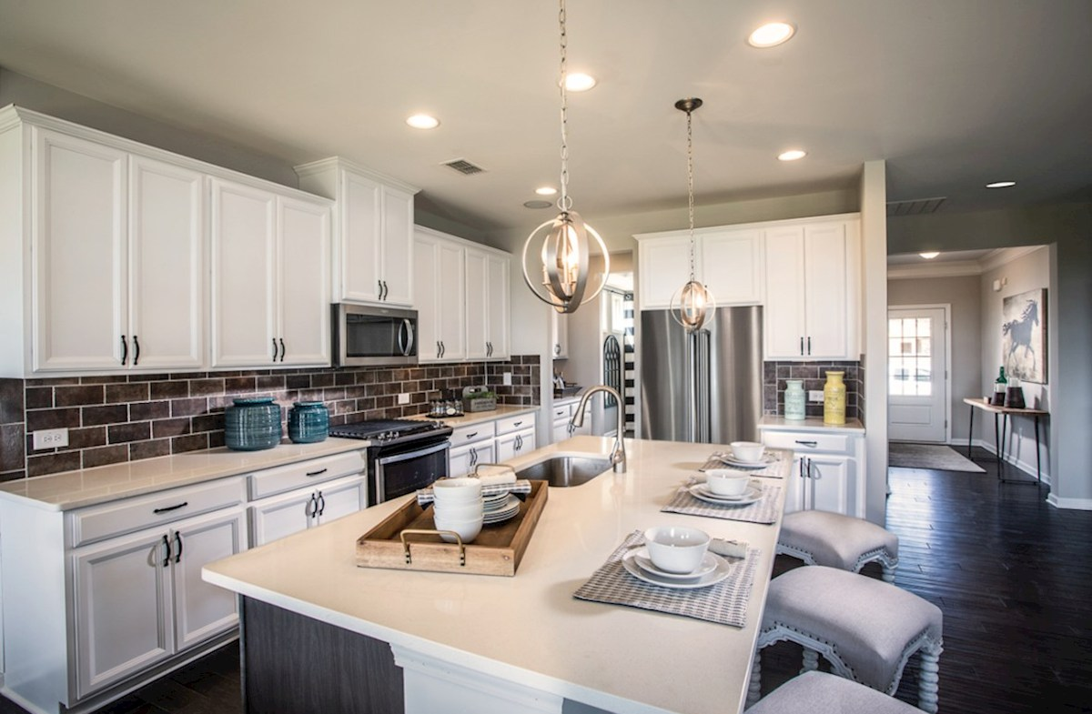 Bethesda Heights Laurel Kitchen with granite countertops