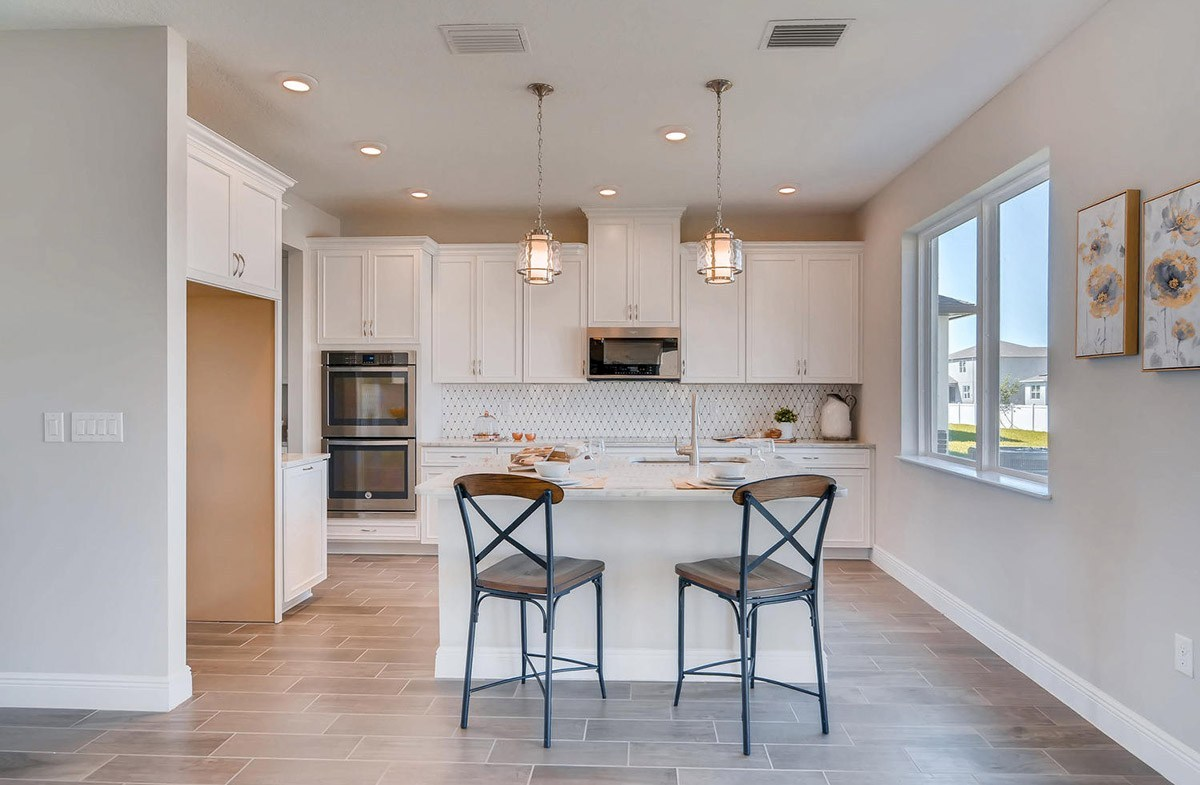 Reserve at Citrus Park Sand Dollar Open gourmet kitchen with countertop seating
