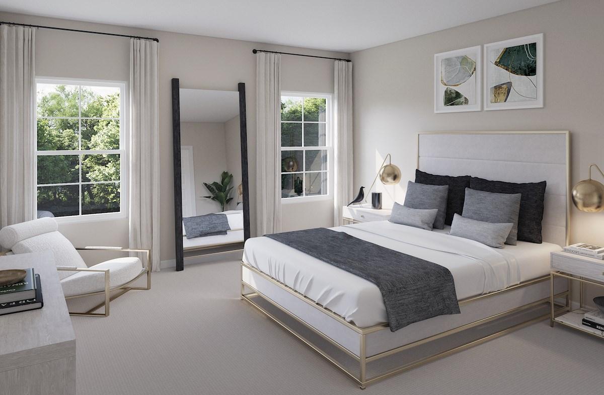 Waverly and Mantouk master bedroom