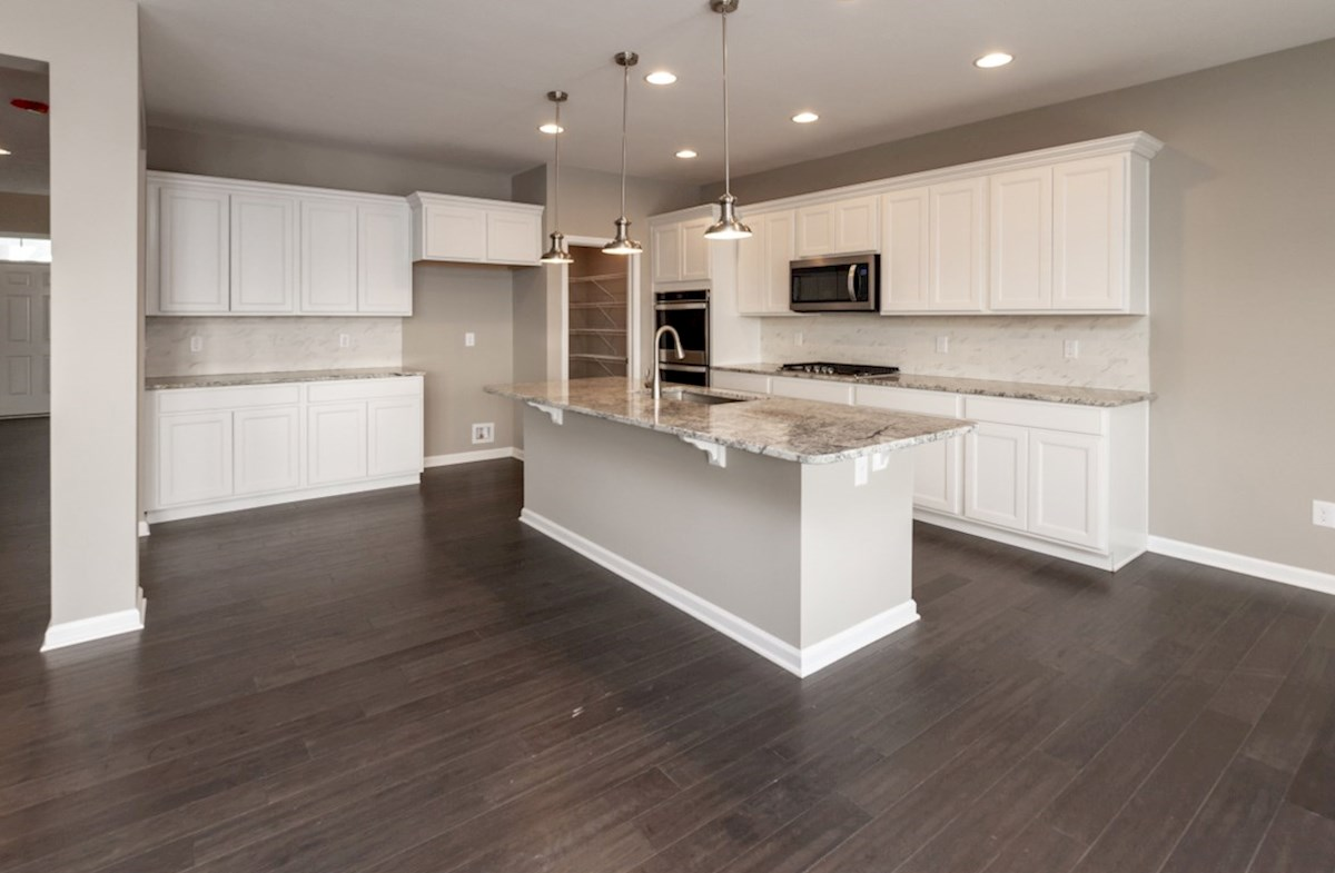 Shelby quick move-in kitchen with spacious island
