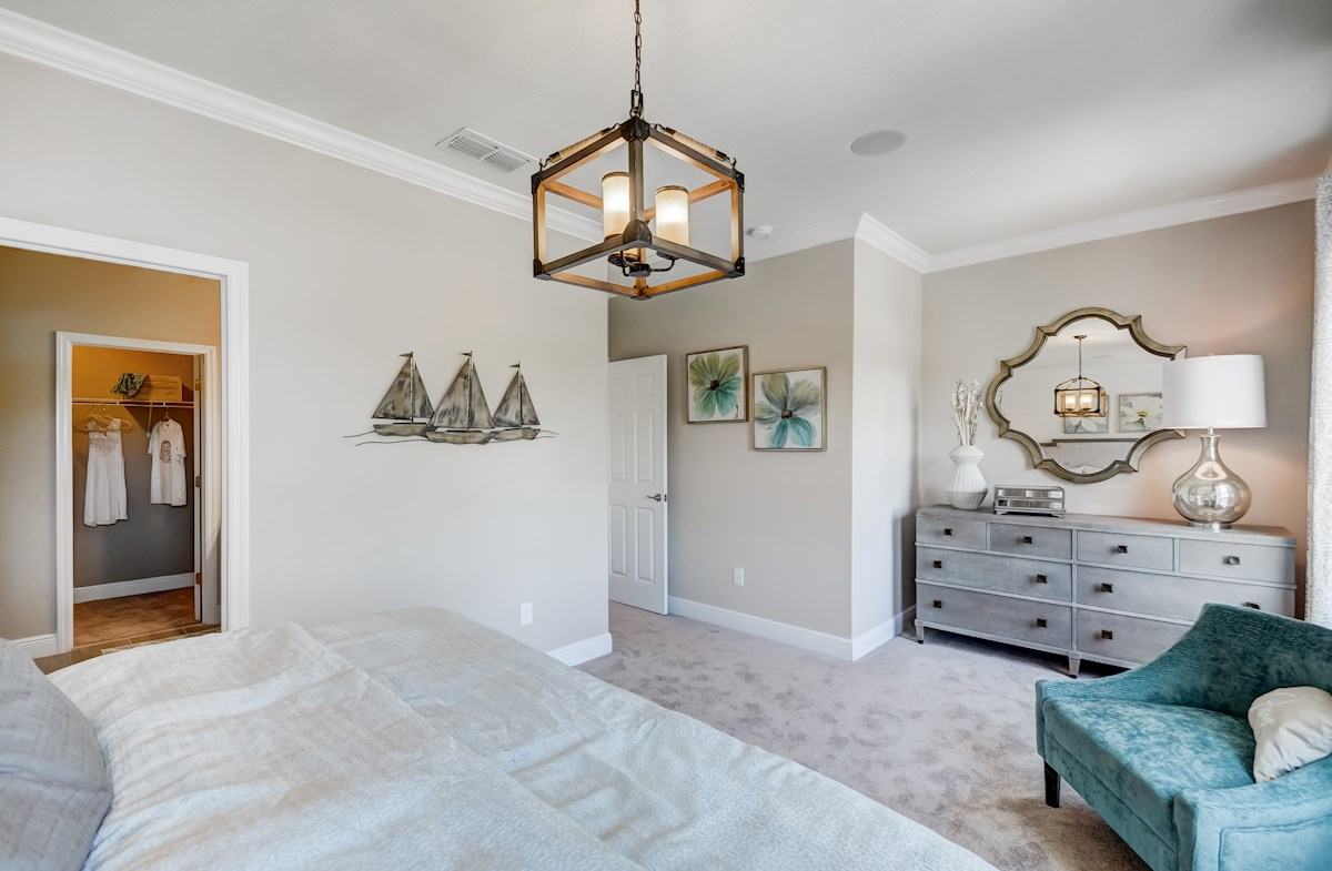 neutral tones in master bedroom