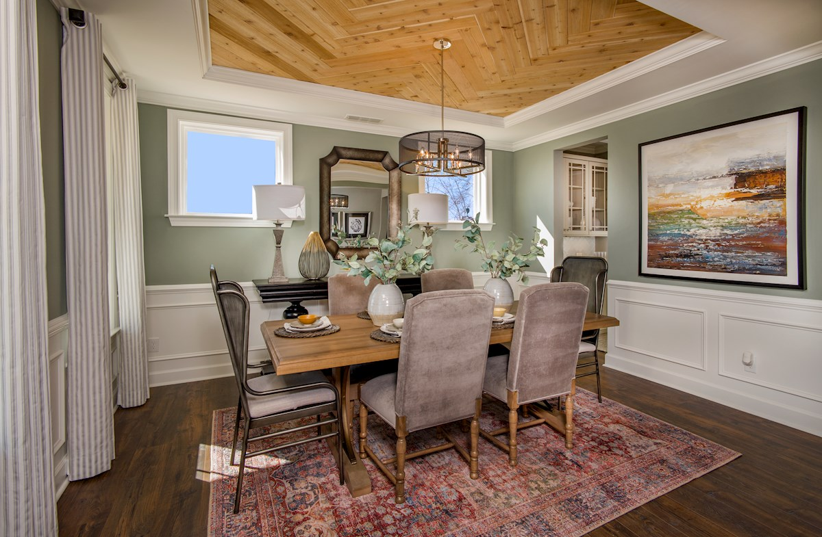 Sage dining room