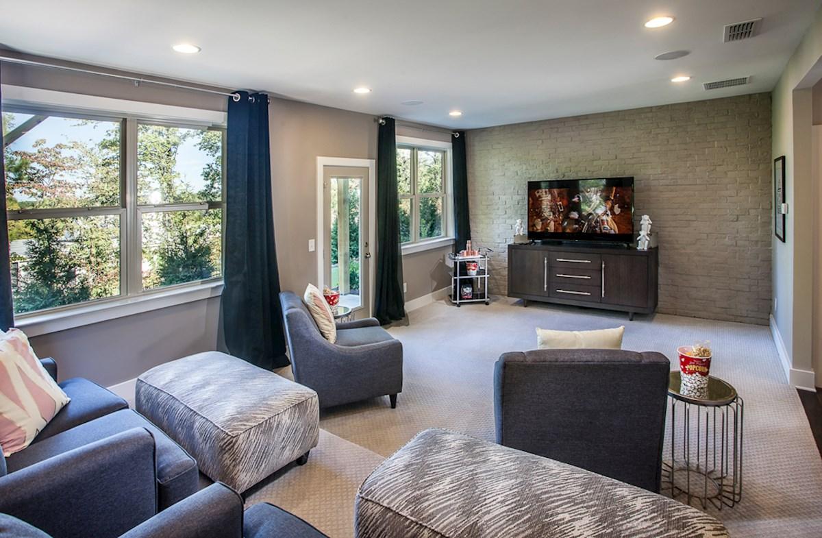 Towns at North Peachtree Camden flexible bonus room