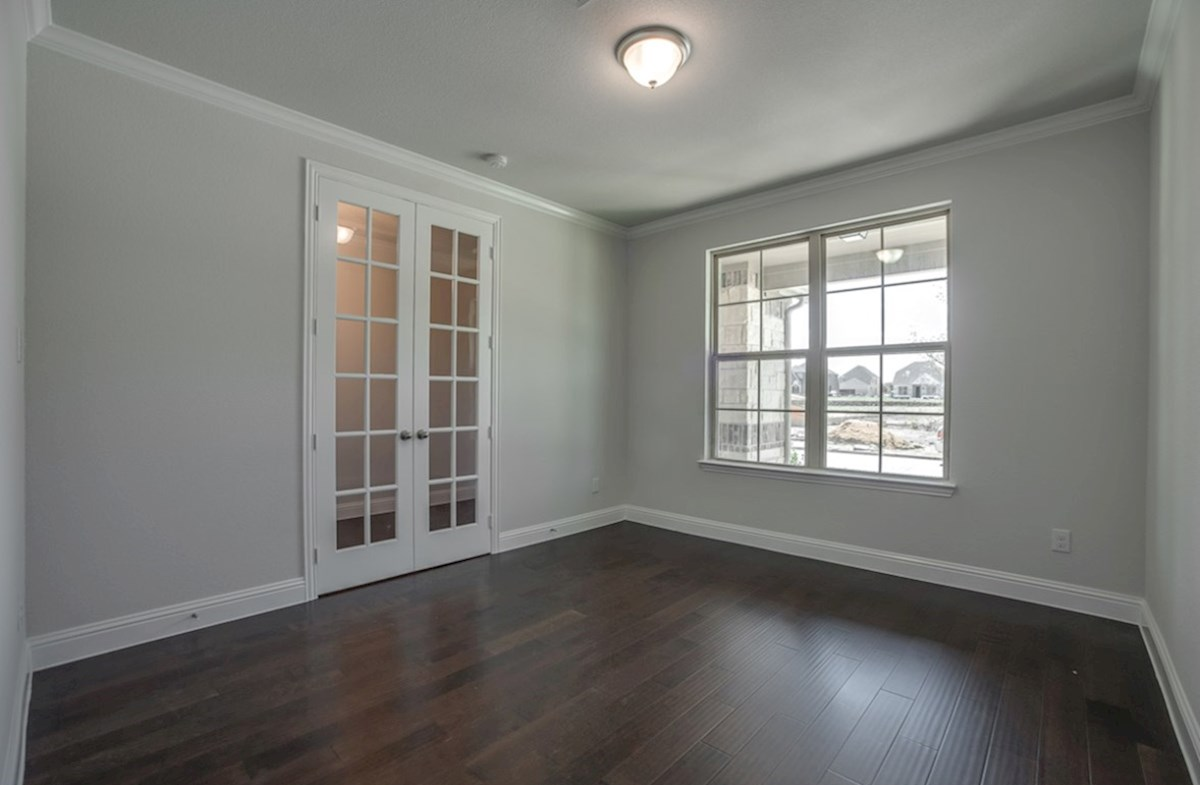 Brookhaven quick move-in Brookhaven private study with French doors