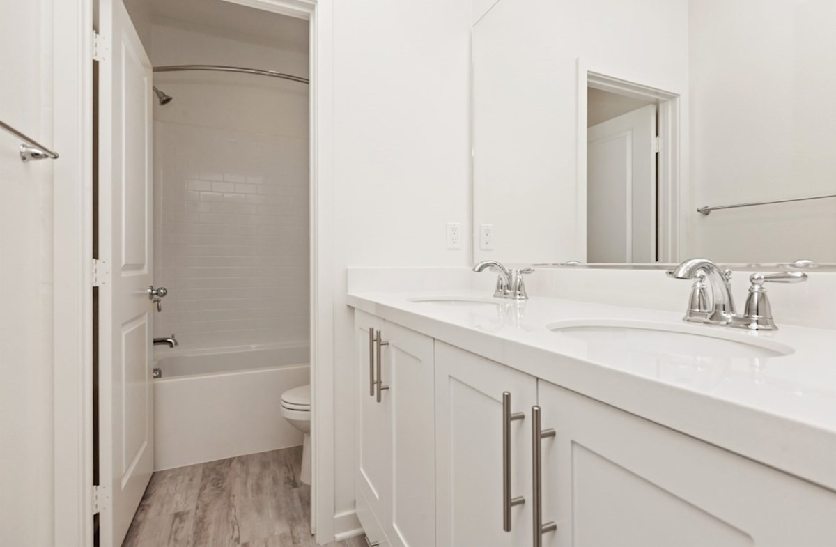 Primrose quick move-in Spacious secondary bathroomss are ideal for guests.