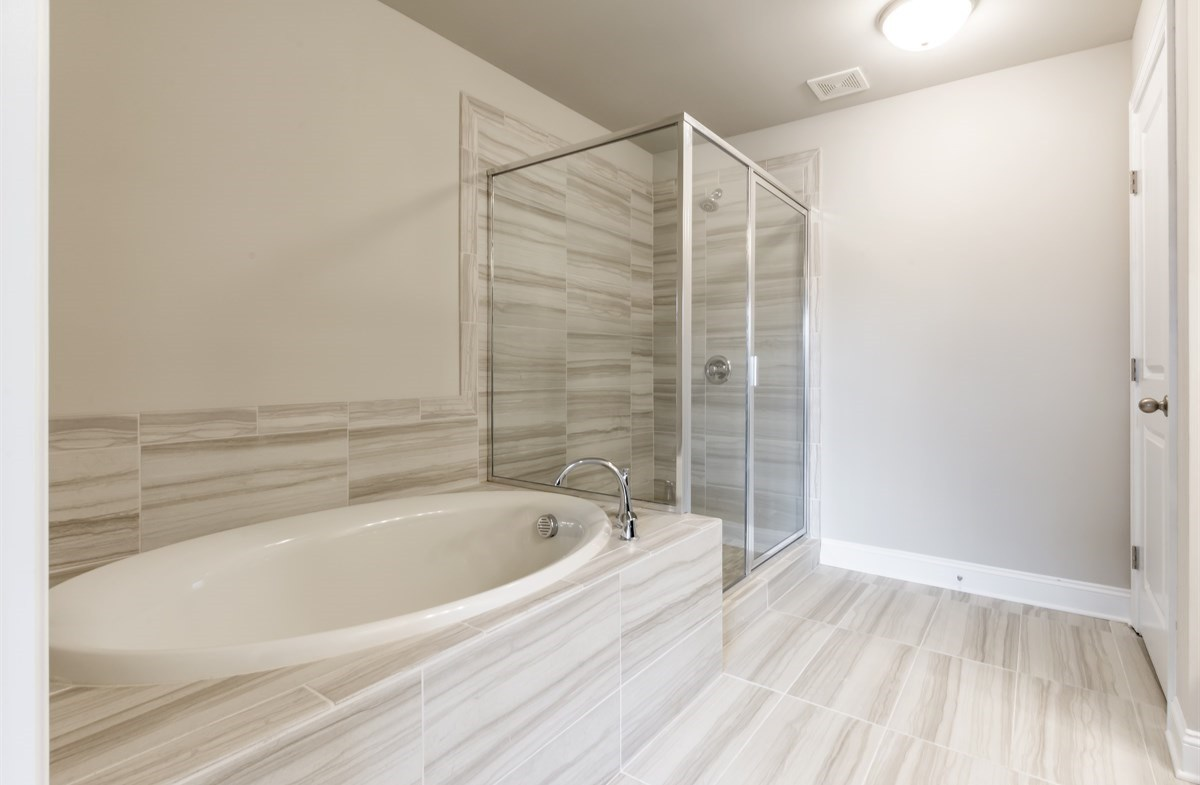 Robinson Park Piedmont Master Bathroom with soaker tub