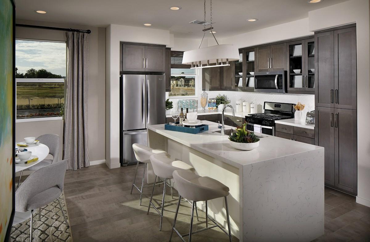 Mission Lane Orchid granite kitchen countertops
