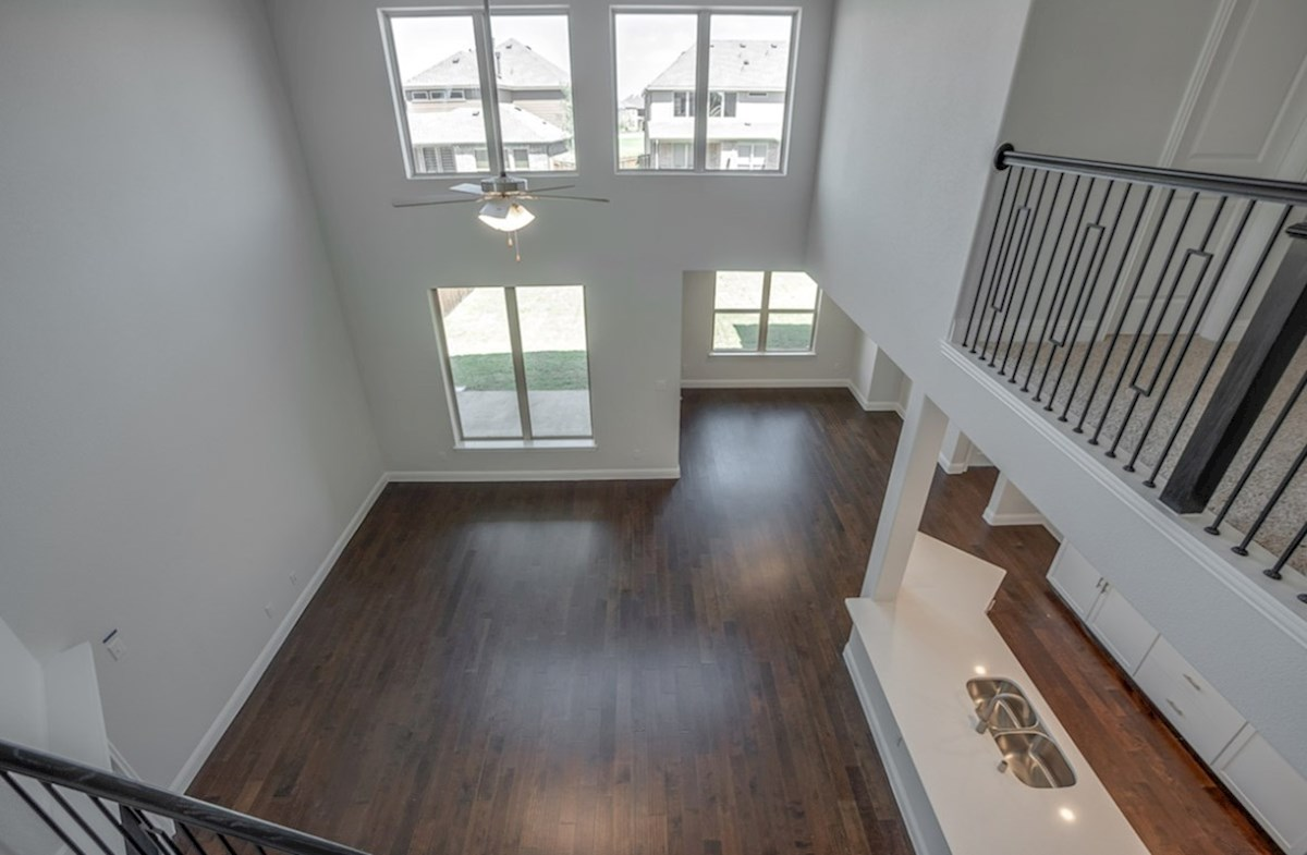 Brookhaven quick move-in Brookhaven two-story great room
