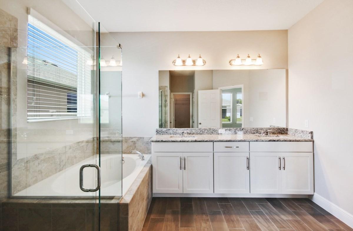 Reserve at Sawgrass Aspen blissful master bathroom