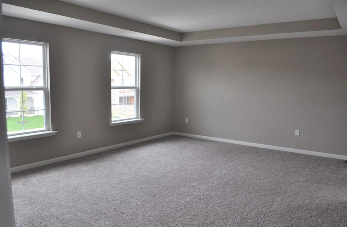 Juniper quick move-in Spacious master suite with trey ceiling