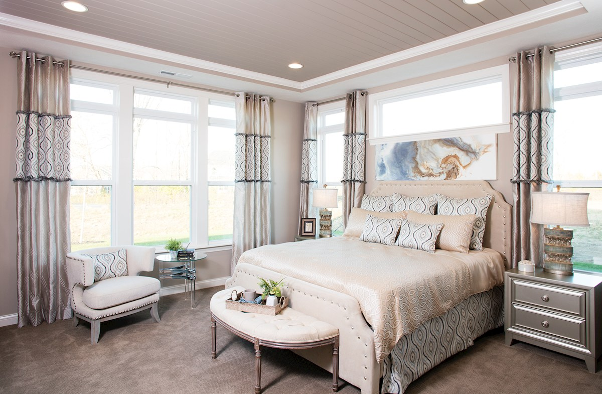 Reserve at Lantern Charleston Relax in this cozy master bedroom