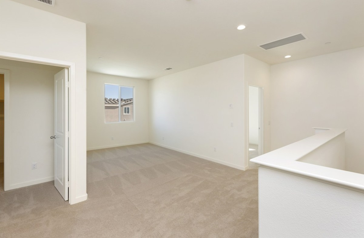 Reserve quick move-in The loft provides the additional space needed for a desk or study area