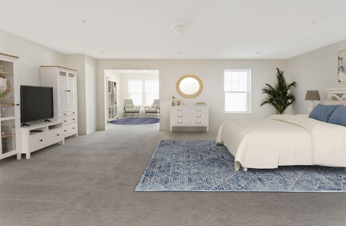 Fenwick quick move-in Fenwick master suite featuring carpet