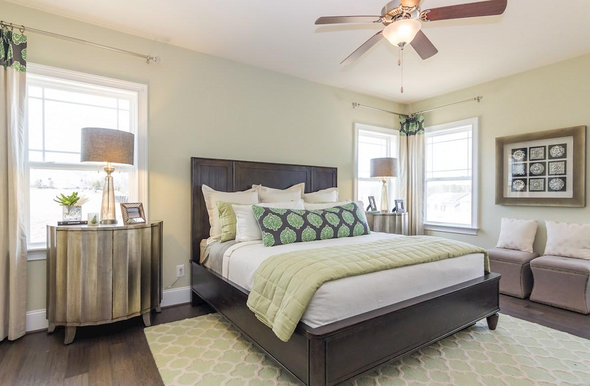Oakwood master bedroom
