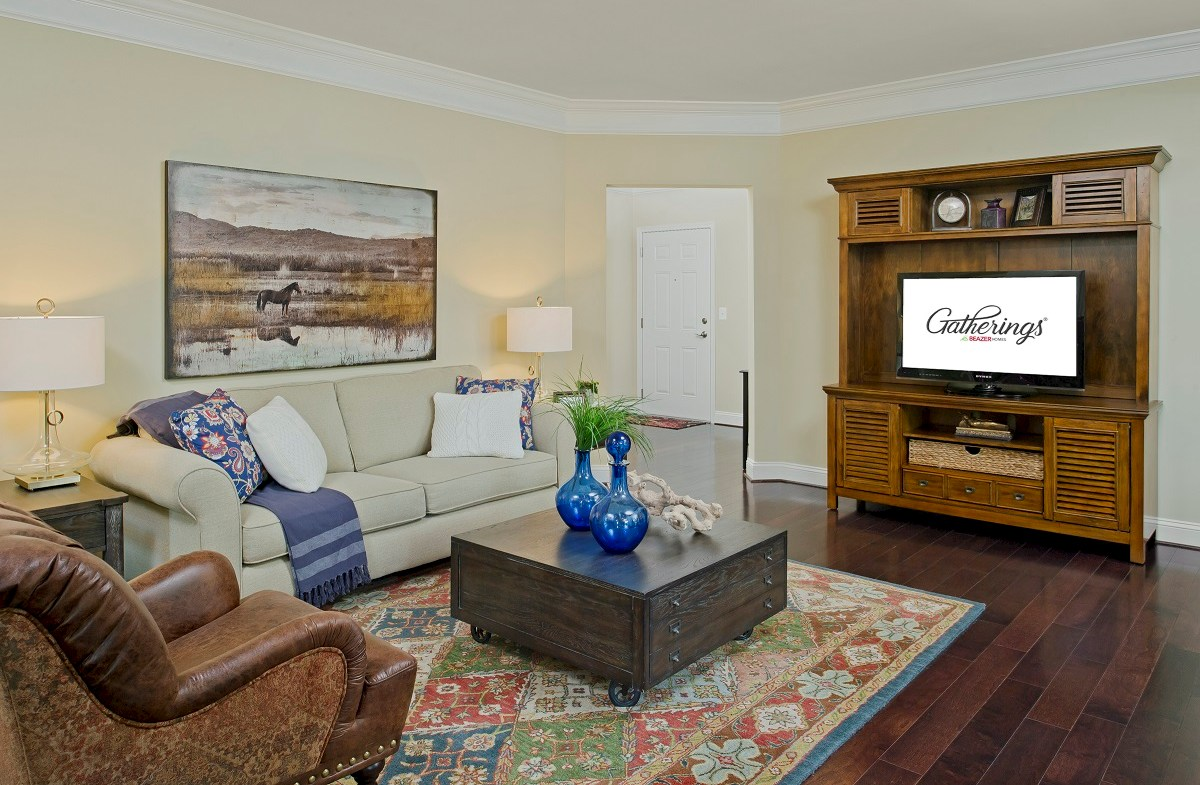 Gatherings® at Quarry Place Dogwood Cozy family room